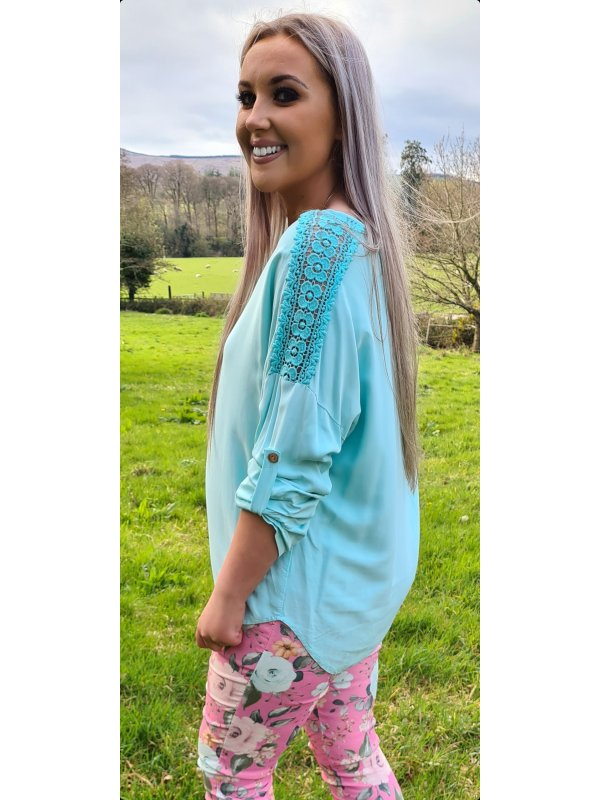 Turquoise Top Size 12-18
