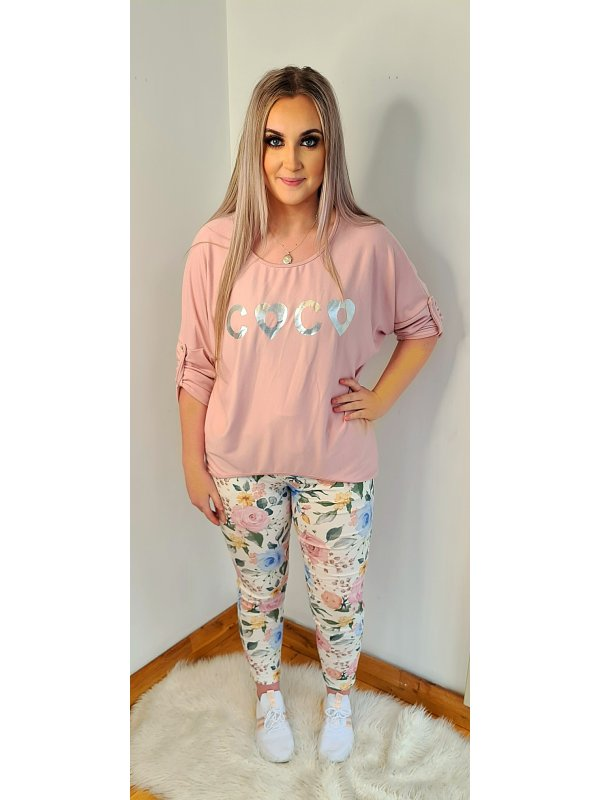 Pink CoCo Top fits 10-16